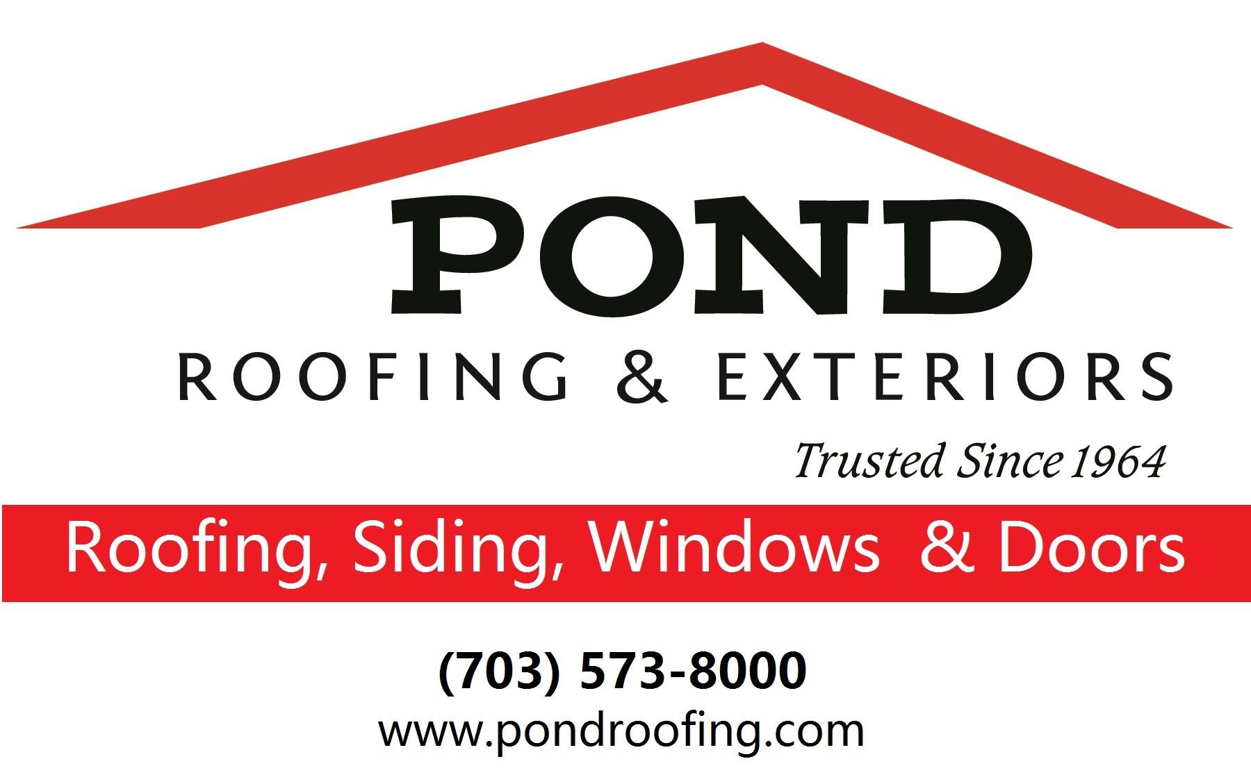 7 top rated roofing contractors in fairfax virginia for Pond companies near me